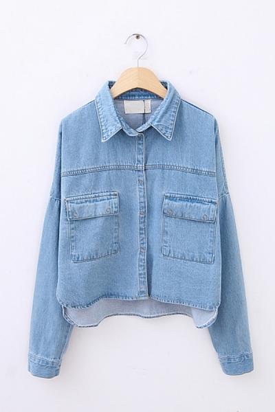oasapFashion-Cropped-High-Low-Denim-Jacket