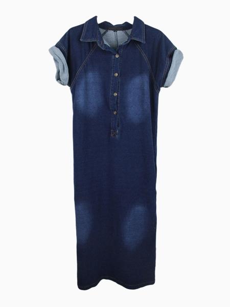 5chies denimshirt dress
