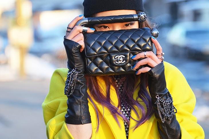 NobodyKnowsMarc.com Gianluca Senese new york fashion week street style chanel bag