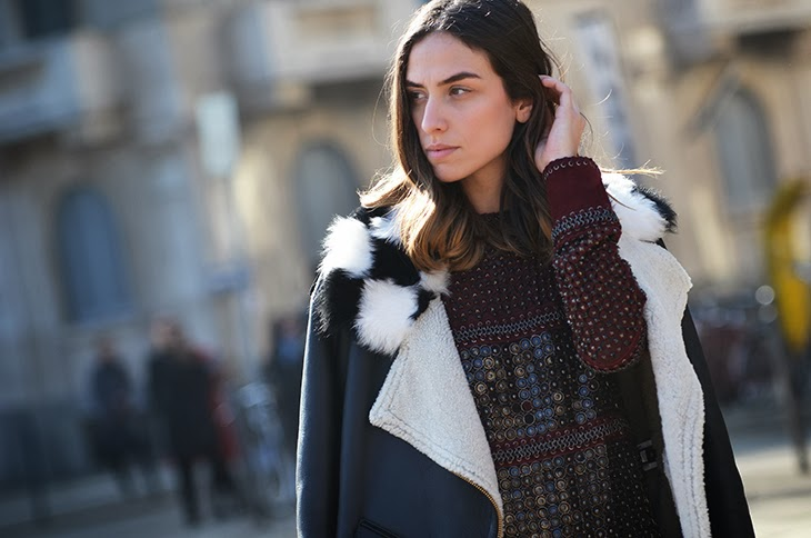 NobodyKnowsMarc.com Gianluca senese milan fashion week street style erika boldrin robero cavalli fashion show