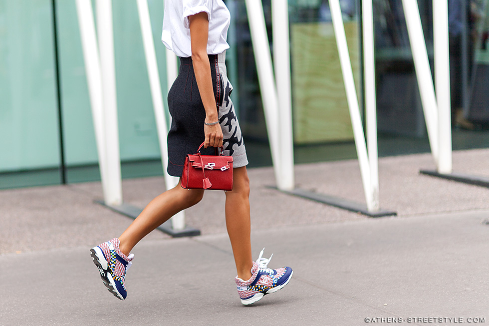 2126_Athens-Streetstyle_Woman-Chanel-Sneakers-Hermes_Milan-Fashion-Week-Spring-Summer-2015_Street-Style