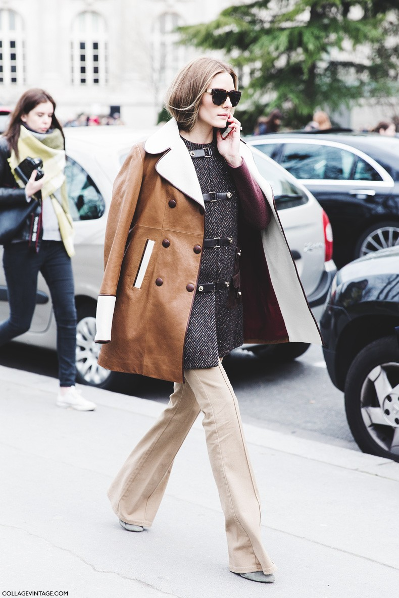 Paris_Fashion_Week-Fall_Winter_2015-Street_Style-PFW-Olivia_Palermo_Leather_Coat-Giambatista_Valli-Flared_Trousers-2-790x1185