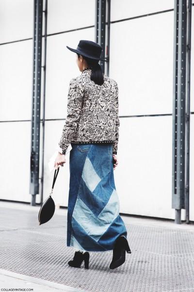 Paris_Fashion_Week-Fall_Winter_2015-Street_Style-PFW-Denim_Long_Skirt--790x1185