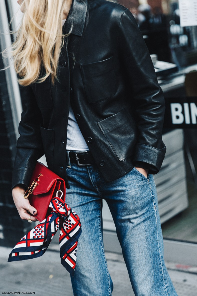 London_Fashion_Week-Spring_Summer_16-LFW-Street_Style-Collage_Vintage-Leather_Jacket-Levis_Vintage-JW_Anderson_Bag--790x1185