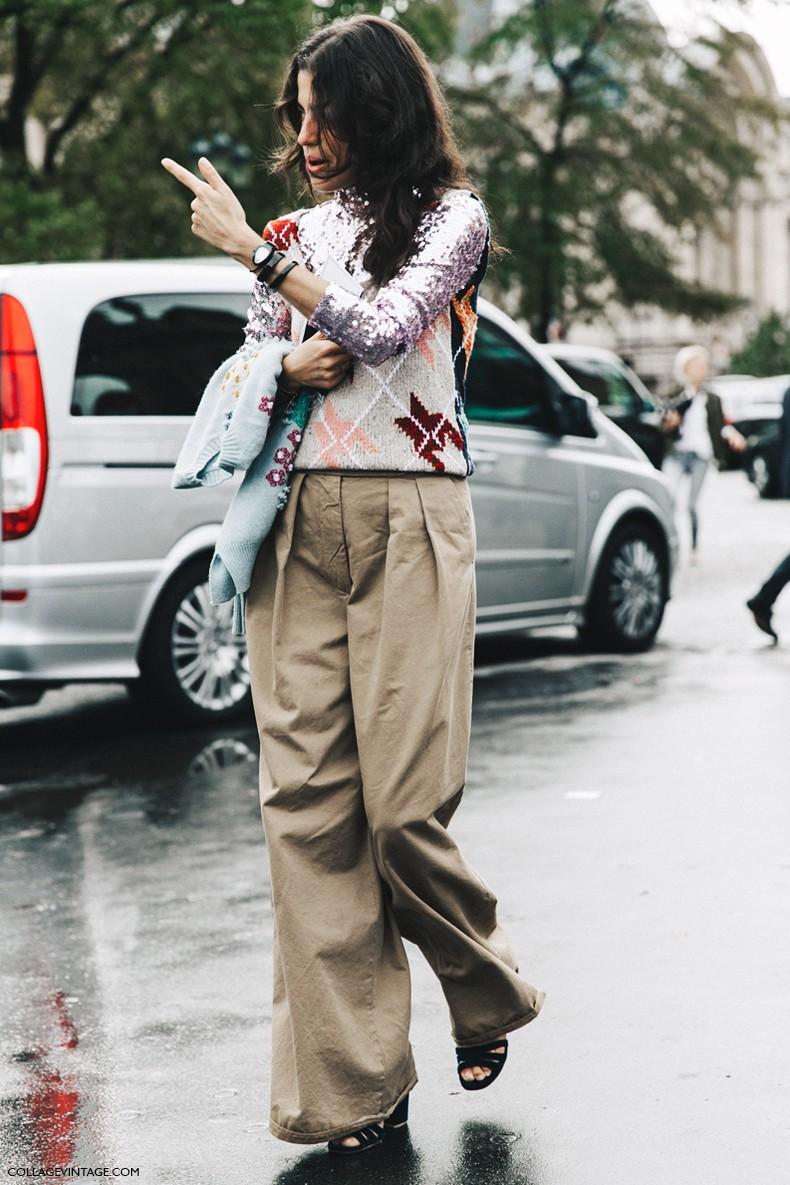 PFW-Paris_Fashion_Week-Spring_Summer_2016-Street_Style-Say_Cheese-Leandra_Medine-Dior-Sequins-Vest-2-790x1185